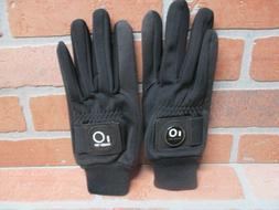 Finger Ten Mens Golf Gloves 1 Pair Warm Windproof with Ball