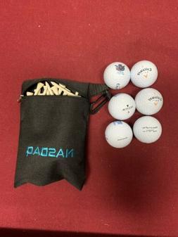 NASDAQ Stock Market Callaway Golf Balls / Tees Bag Lot