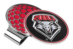 NCAA New Mexico Lobos Golf Hat Clip with Ball Marker, One Si