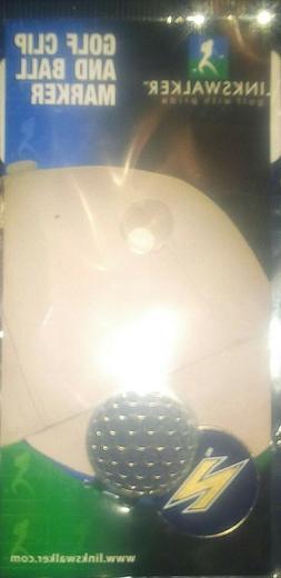 LinksWalker NCAA Ohio Akron Z Golf Hat Clip with Ball Marker