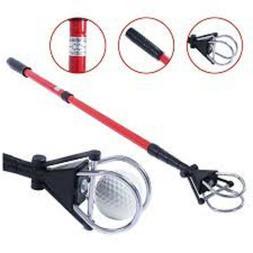 *New*  Golf Ball Retriever--Red/Black--Extendable/Telescopic