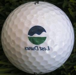 New Logo Golf Ball -    Lost Dunes G C , MI  -  1999 / Priva