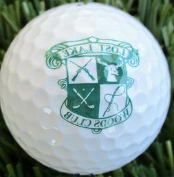 New Logo Golf Ball   Lost Lake Woods Club MI 1926 Private