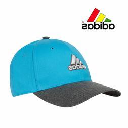 NEW! Adidas Mens Golf Hat Ball Cap - Heather Gray & Blue - O