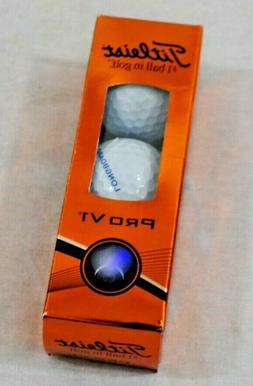 New Titleist Pro V1 Golf Ball Sleeve