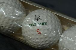 NEW sleeve of 3 vintage TOP CAT golf ball EXEC 8 Distance