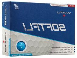 New Maxfli SoftFli Matte Golf Balls 3 Dozen Pick Color Hi Vi