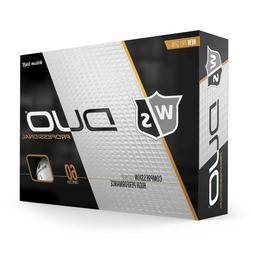New Wilson Staff Duo Professional Golf Ball Dozen. 12 Pack