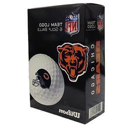 NFL Chicago Bears Golf Ball, Pack of 6