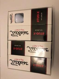 NIB  Titleist X-outs Golf Balls  1 Dozen  White