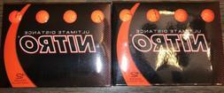 Nitro Tour Distance Golf Balls Pack of 24 Orange