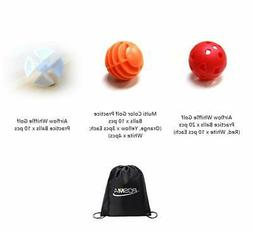 POSMA PB050A Airflow Whiffle Golf Practice Ball