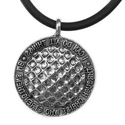 phil 4 13 golf ball necklace antique