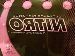 Nitro Pink Golf Balls