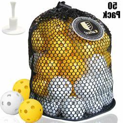 Caiton Plastic Golf Balls, Practice Golf Balls Wiffle Perfor