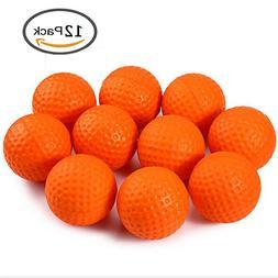 Practice Golf Balls 12 Pcs/Pack Elastic PU Foam Sponge Indoo