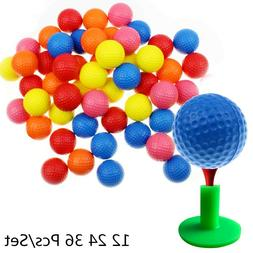 Practice Golf Balls Foam Soft Elastic 42mm AAAAA Sporting Go