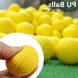A99Golf PU Foam Balls Practice Golf Ball Indoor Outdoor Yell