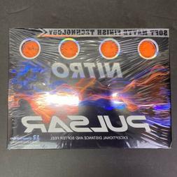 Nitro Pulsar 12 Orange Golf Balls- New Sealed Package