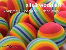 A99 Golf Rainbow Foam balls Practice Ball Floater Water Fun