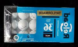 Sealed Box TAYLORMADE Reload 36 Golf Balls Recycled ~ Profes