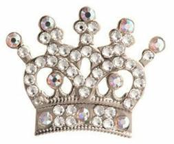 silver tiara swarovski crystal ball marker