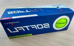 Maxfli SoftFli Hi Vis Matte Green - NEW 3 BALL SLEEVE - Soft
