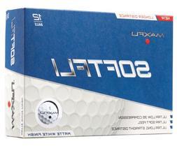 Maxfli SoftFli Matte Finish Low 35 Compression Golf Balls 12
