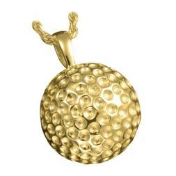 Sport Golf Ball Ash Holder Cremation Urn Pendant Necklace 14