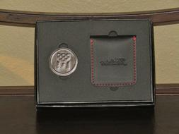 Titleist Stars & Stripes Ball Marker Set, Includes Leather C