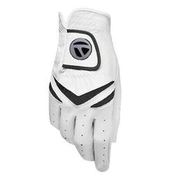 TaylorMade Stratus All Leather White Golf Glove Magnetic Bal