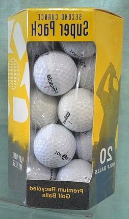 SUPER Pack 20 GOLF Balls SECOND Chance Nitro Golf Premium RE
