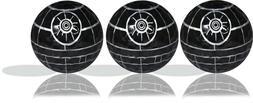 SW Death Star Imprint Golf Ball 3 Pack