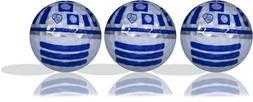 SW R2D2 Imprint Golf Ball 3 Pack