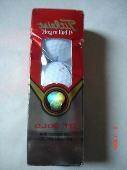 TITLEIST DT Solo NEW Sleeve of 3 Golf Balls