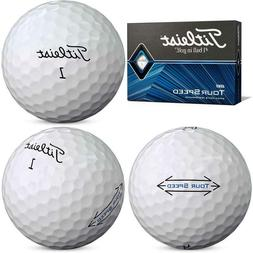 Titleist Tour Speed Golf Balls, White,