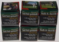 Trick Golf Balls Lot 6 Breaking Floating Wobbling World Nove
