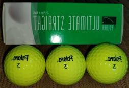 Polara Ultimate Straight Golf Balls Self-Correcting Tech 3-B