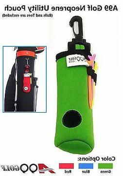 A99 Golf Utility Pouch Neoprene Golf Balls Holder Tees Acces