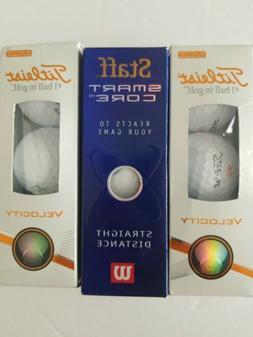 Titleist Velocity Golf Balls Staff Smart Core Wilson Golf Ba