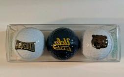 Vintage UCLA BRUINS Golf Balls set of 3 - SPALDING -ENJOY LI