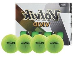 Volvik Vivid Golf Balls One Dozen 12 Pack Vivid GREEN