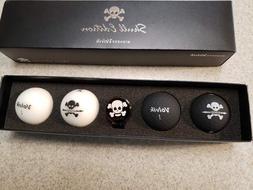 Volvik Vivid Limited Skull Edition Golf Balls - Hat Clip Gif