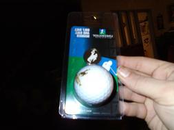 wyoming ncaa golf ball and ball marker